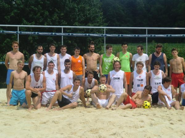 Footvolley Ranking Turnier in Graz 28.06.2014